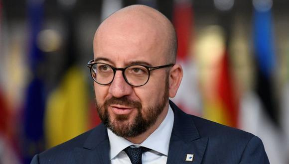 Charles Michel, jefe del Consejo Europeo. (Foto: Reuters)