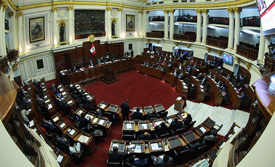 Pleno del Congreso sesionará de forma extraordinaria a las 10 de la mañana. (Foto: Agencia Andina)