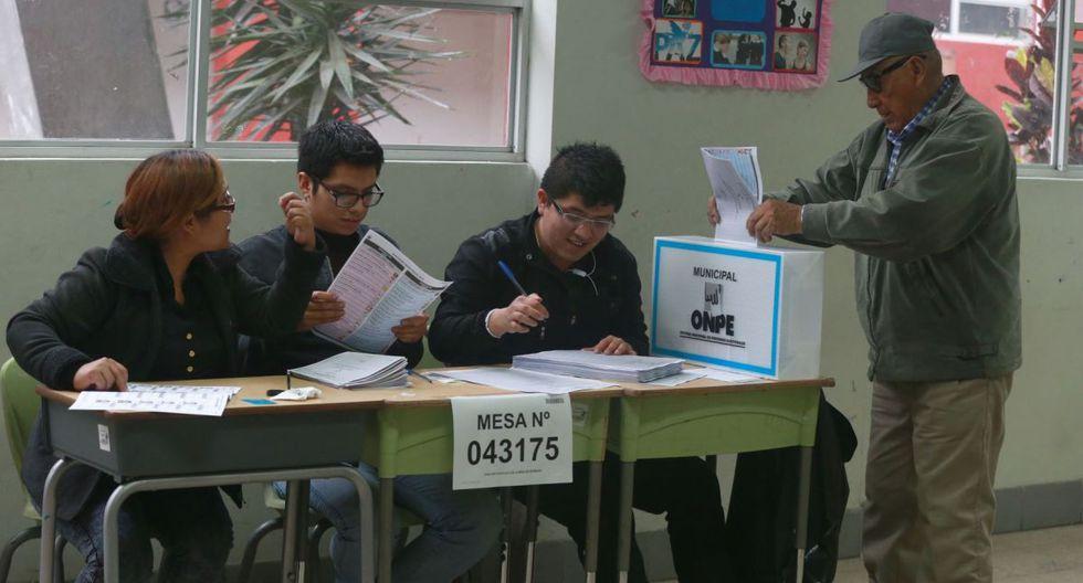 Las mesas electorales son órganos formados por ciudadanos elegidos por sorteo, encargados de recibir los votos de los ciudadanos y de hacer el recuento en un proceso de elecciones. (Foto: Andina)
