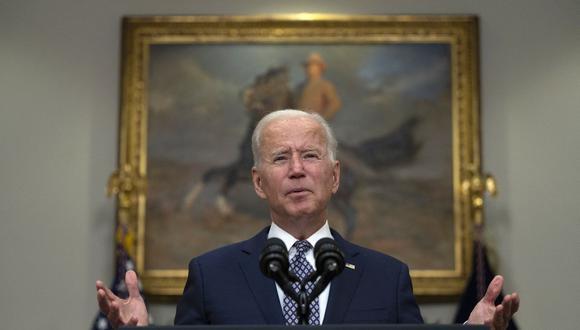 El presidente de Estados Unidos, Joe Biden. (Foto de JIM WATSON / AFP).