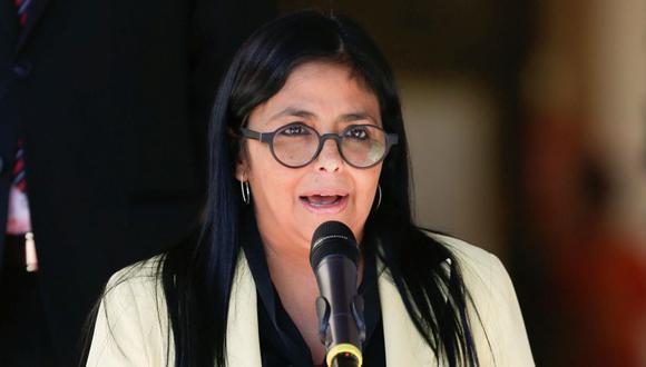 Delcy Rodriguez. (Foto: Reuters)
