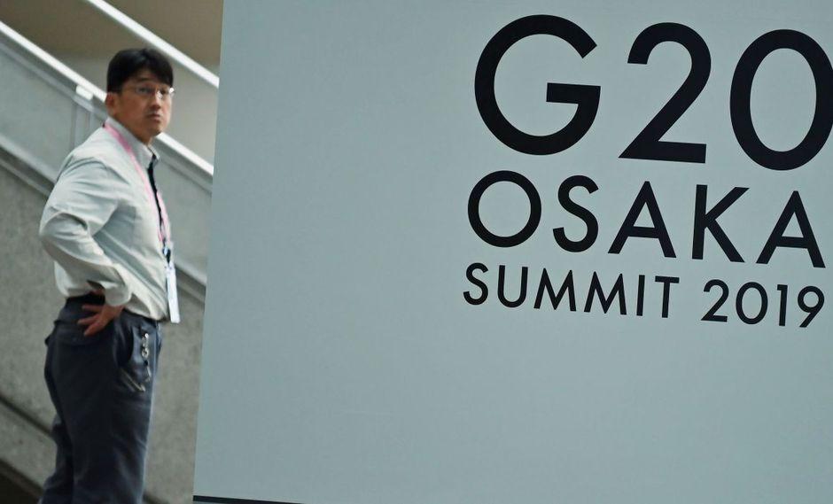La cumbre del G20 se desarrollará el viernes y sábado de esta semana en Japón. (Foto: AFP)