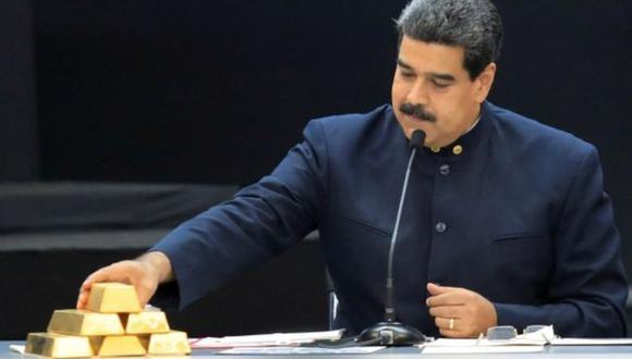 El presidente de Venezuela, Nicolás Maduro, habla durante una reunión con los ministros responsables del sector económico en el Palacio de Miraflores en Caracas, el 22 de marzo de 2018. (Foto: Reuters)