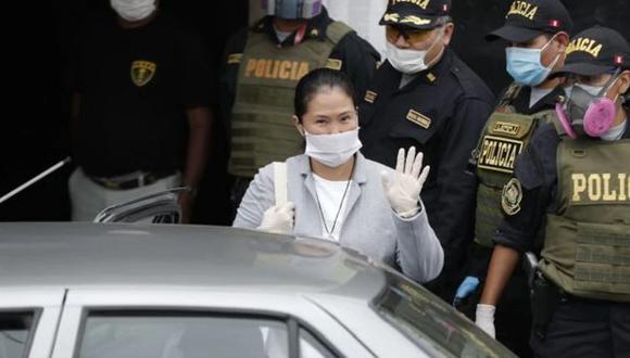 Keiko Fujimori es investigada por ser la presunta cabecilla de una organización criminal al interior de Fuerza Popular dedicada al lavado de activos. (Foto: GEC)