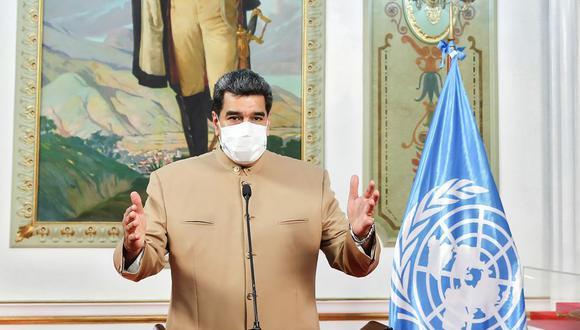 Nicolás Maduro no mencionó ningún número concreto de emigrantes que partieron ante la prolongada crisis económica en Venezuela. (AFP).