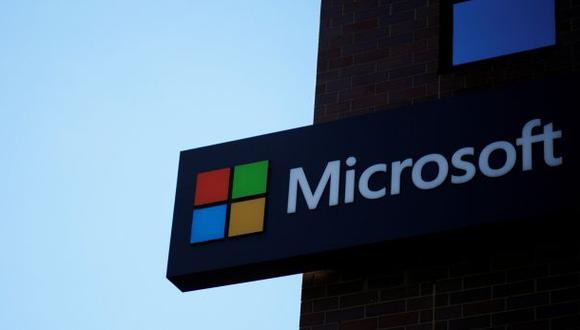 Las acciones de Microsoft cayeron 3%. (Foto: Reuters)