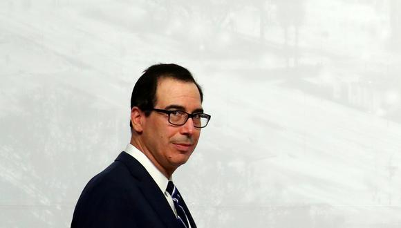 Steven Mnuchin, secretario del Tesoro de Estados Unidos. (Foto: Reuters)