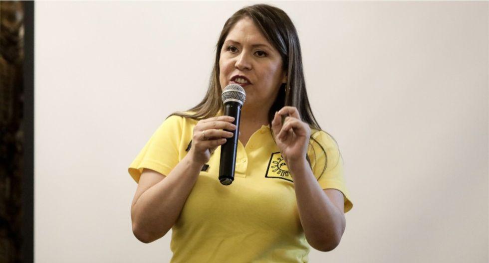 Yeni Vilcatoma no asistió al tercer debate organizado por el JNE, pese a que se había programado su participación. (Foto: GEC)