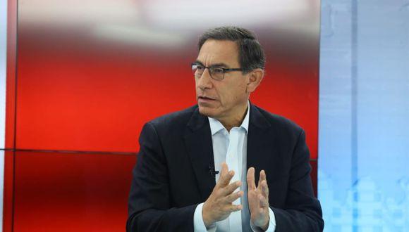 El presidente Martín Vizcarra participó en la supervisión de obras para los Juegos Panamericanos 2019 en VMT. (Foto: Difusión / Video: TV Perú)