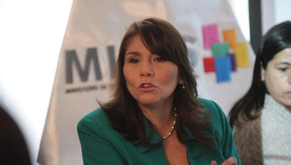 Paola Bustamante, ministra de Inclusión Social.