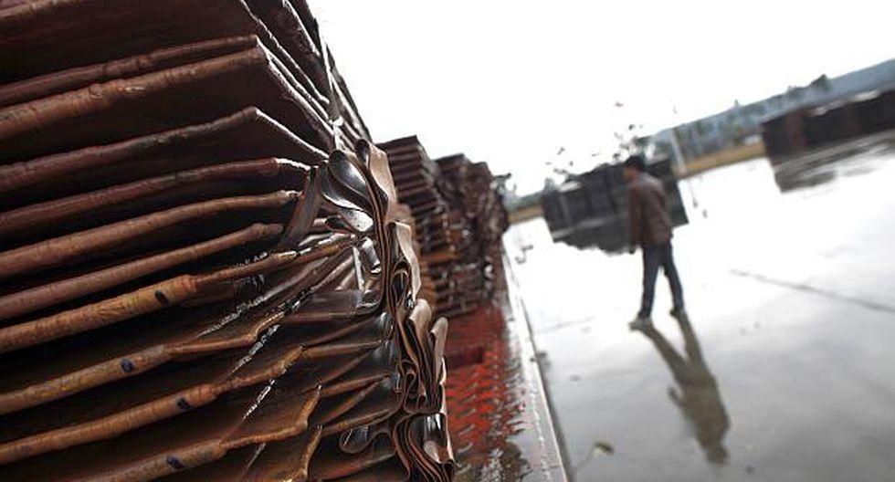El cobre referencial en la LME ganaba un 0.54%. (Foto: Reuters)