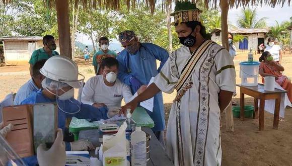 Minsa afirma que tiene listo plan para vacunar a 380.000 peruanos indígenas, (Foto: Diresa Junín)