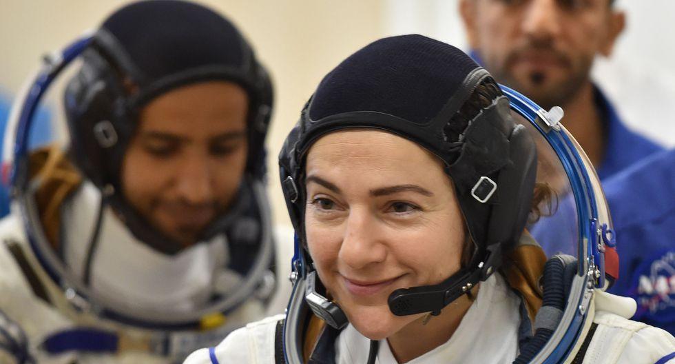Muchas mujeres astronautas han participado en caminatas espaciales afuera de la ISS, pero siempre con un hombre. (Foto: AFP)