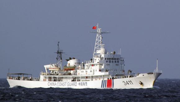 Unas 400 embarcaciones chinas se encuentran frente a Pisco. (Foto: EFE)