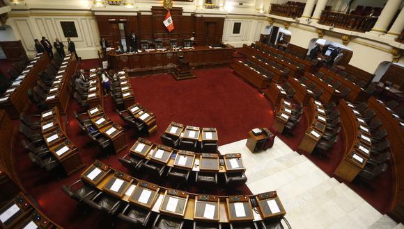 Este viernes 23 de julio se llevará a cabo, en el hemiciclo del Poder Legislativo, la juramentación e incorporación de los congresistas electos para el periodo 2021-2026. (Foto: Mario Zapata / GEC)