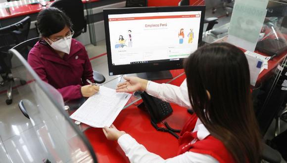 Empleos Perú es una plataforma virtual gratuita que forma parte del Servicio Nacional del Empleo. (Foto: Andina)