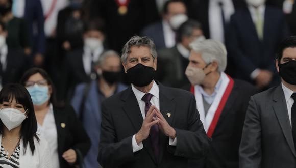 Presidente Francisco Sagasti asumió el cargo el pasado martes 17 de noviembre, luego de la renuncia de Manuel Marino. (Foto: GEC)