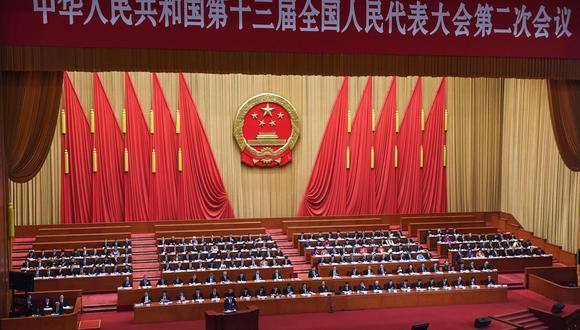 La gran cita anual del Partido Comunista Chino debía empezar el 5 de marzo, pero fue aplazada a causa del coronavirus. (AFP).