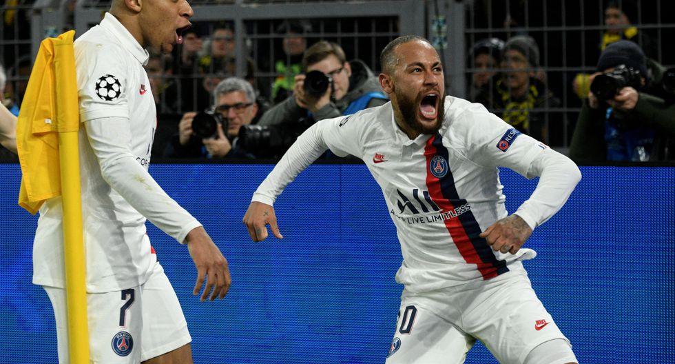 Neymar marcó 17 goles en sus primeros 30 partidos de Champions League. (Foto: AFP)