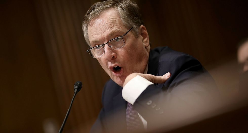 Robert Lighthizer, representante de Comercio de Estados Unidos. (Foto: AFP)