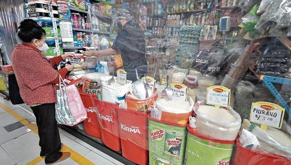 Índice de precios al consumidor. En Lima fue 1.04% en julio, según INEI.(Foto: César Campos | GEC)