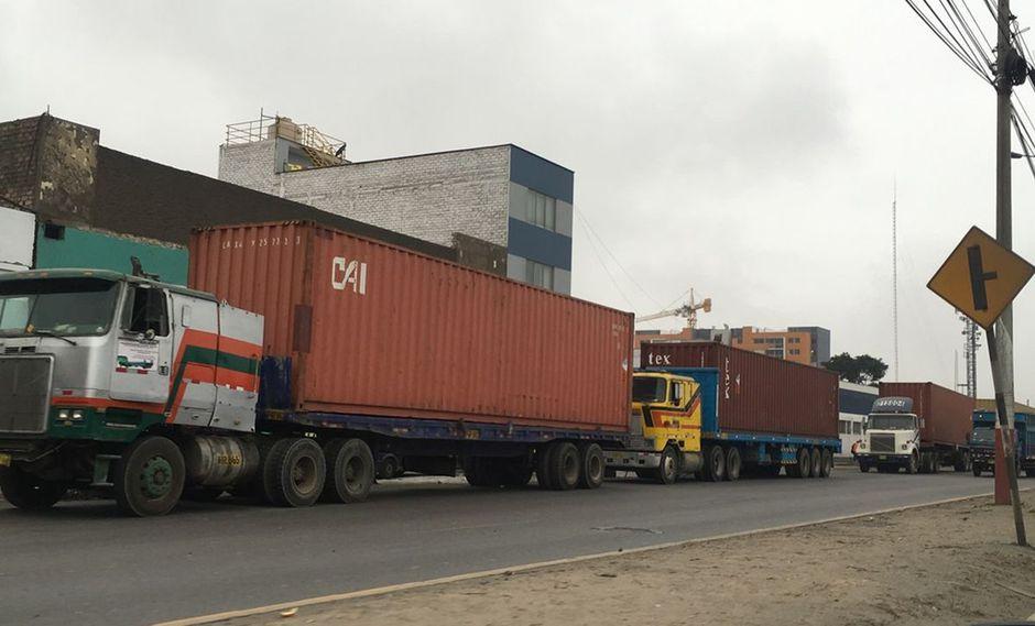 Transporte de carga (Foto: Difusión)