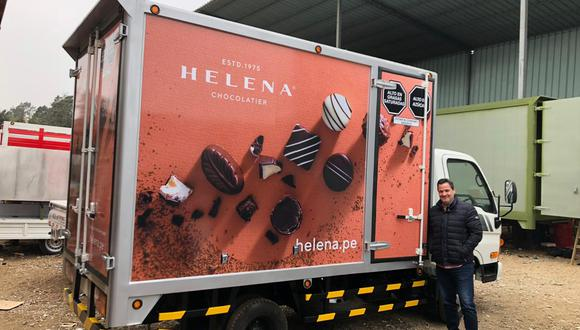 Fernando Panizo, gerente general de Helena Chocolatier ve potencial en nuevas categorías