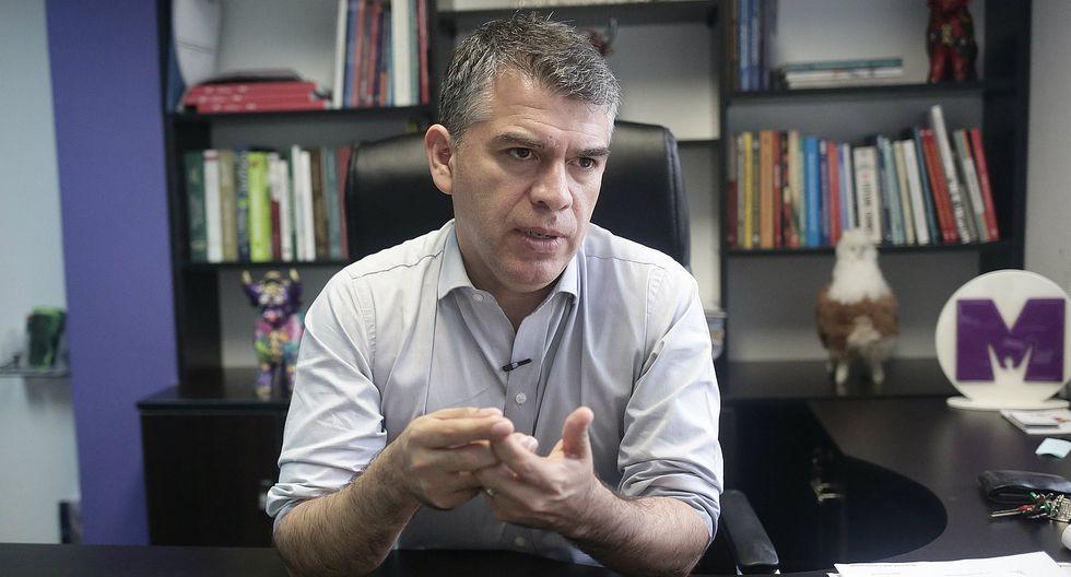 Julio Guzmán aseguró que le pidió a Daniel Mora la renuncia a su candidatura tras conocerse denuncia por agresión contra su esposa. (Foto: GEC)