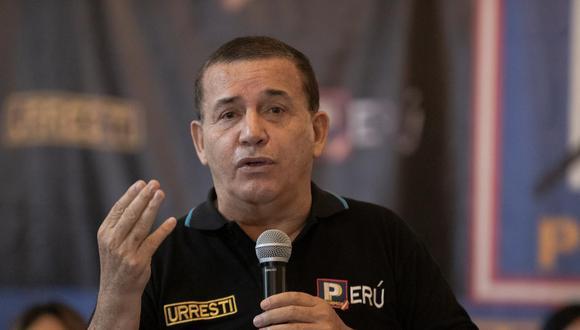 Daniel Urresti es el candidato presidencial de Podemos Perú. (Foto: Renzo Salazar / GEC)