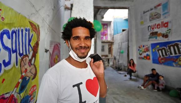 Luis Manuel Otero Alcántara es un símbolo y un líder dentro del movimiento San Isidro de Cuba, un influyente grupo de artistas e intelectuales que exigieron mayores libertades a medida que las protestas antigubernamentales se extendieron por todo el país este verano (Foto: EFE)