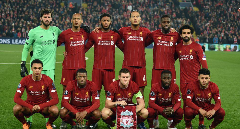 Liverpool FC con 24 Jugadores en el plantel cuesta 1285.85 Millones de dólares (Foto: AFP)