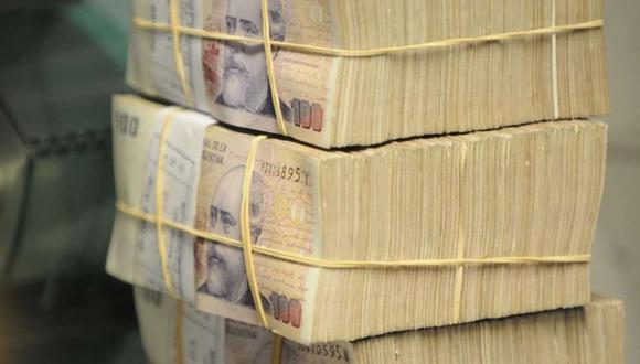 El valor nominal de los billetes y monedas en circulación aumentó un 80% este mes respecto al año anterior.