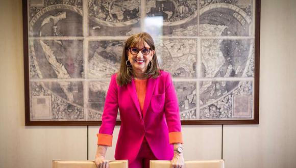 Nueva secretaria general de la UNCTAD, Rebeca Grynspan, quien asumió el cargo esta semana, tras dirigir ocho años la Secretaría General Iberoamericana. (Foto: EFE/Fernando Villar)