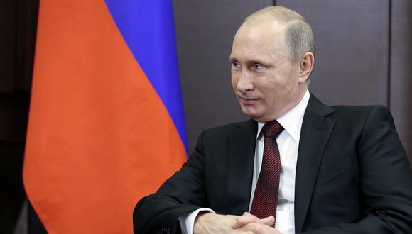 Vladímir Putin. (Foto: Difusión)