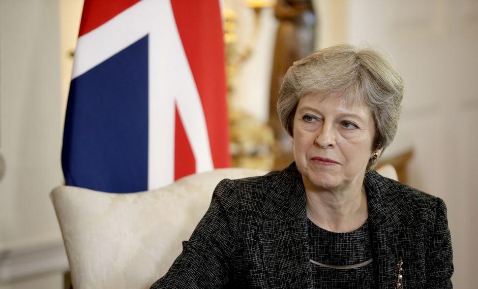 Theresa May, primera ministra británica. (Foto: AP)