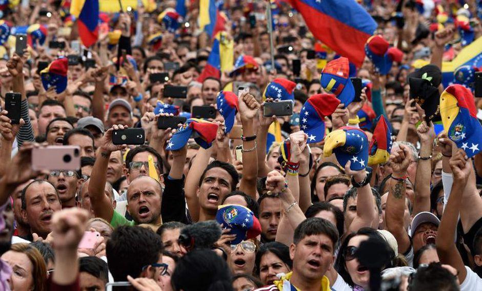 Pero el Grupo de Lima y la Unión Europea se oponen al uso de la fuerza.(Foto: AFP)