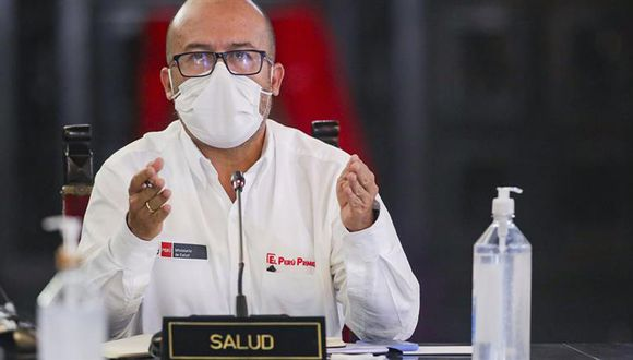 Víctor Zamora debía presentarse ante la Comisión de Salud para responder por el desabastecimiento de oxígeno medicinal. (Foto: PCM)