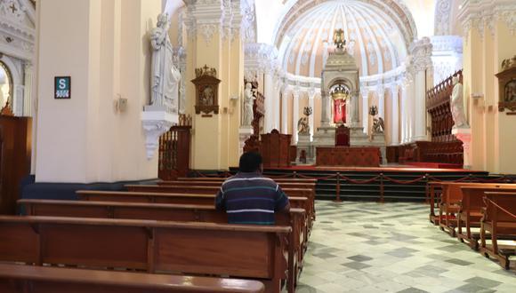 Desde junio la iglesia buscó de la reapertura de los templos para acoger a los fieles, agobiados por la pandemia. (Foto: GEC)
