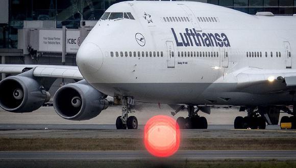 Lufthansa. (Foto: Difusión)