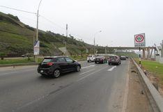 Costa Verde: reducen velocidad máxima para prevenir accidentes en circuito de playas