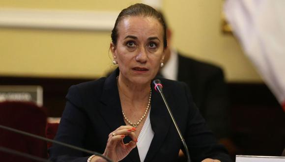 La ministra de Justicia, Ana Teresa Revilla, realizó una visita a Áncash y comentó la situación de Alejandro Toledo. (Foto: Andina)