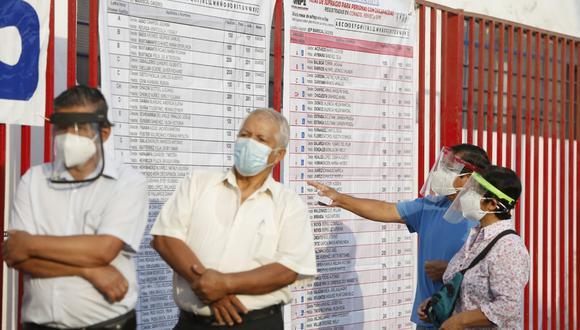 La ONPE confirmó el nuevo horario para adultos mayores en la segunda vuelta electoral. (Foto: GEC)