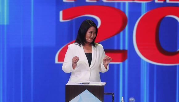 Keiko Fujimori reitera que de llegar a la presidencia indultará a Alberto Fujimori. (Foto: GEC)