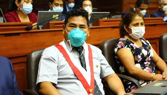 El congresista Héctor Maquera  (Unión por el Perú) fue elegido nuev presidente de la Comisión de Fiscalización. (Foto: Congreso de la República)