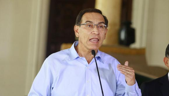 Martin Vizcarra, presidente de la República (Foto: GEC)