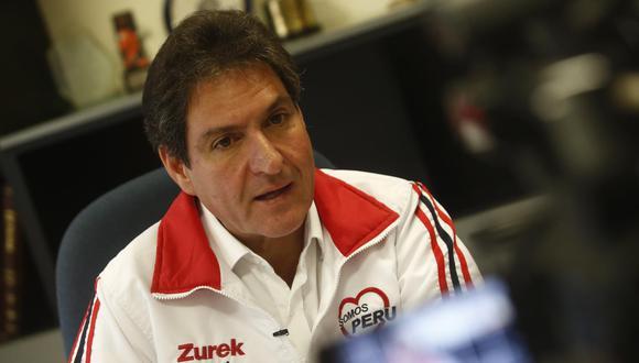 """El Partido Democrático Somos Perú consideró como una """"maniobra mal intencionada"""" la renuncia de militantes de la agrupación. (Foto: GEC)"""
