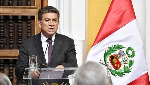 El canciller peruano Gustavo Meza-Cuadra. (Foto: Cancillería)
