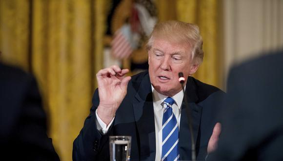 Donald Trump insiste en una política proteccionista para la economía estadounidense. (Foto: AP)