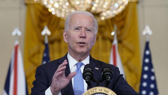 Biden, quien llegó al cargo con la promesa de transformar la sociedad estadounidense, no puede permitirse el lujo de fracasar en ninguno de estos frentes. (Foto: AP)