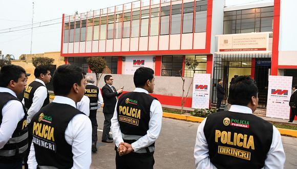Delincuentes que sean atrapados en flagrancia serán multados. (Foto: GEC)